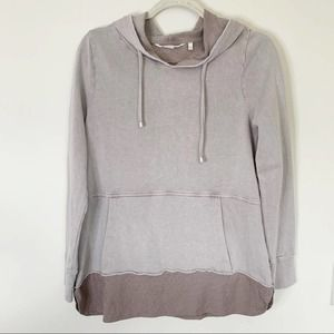 Soft Surroundings Presto Hoodie Size S Taupe